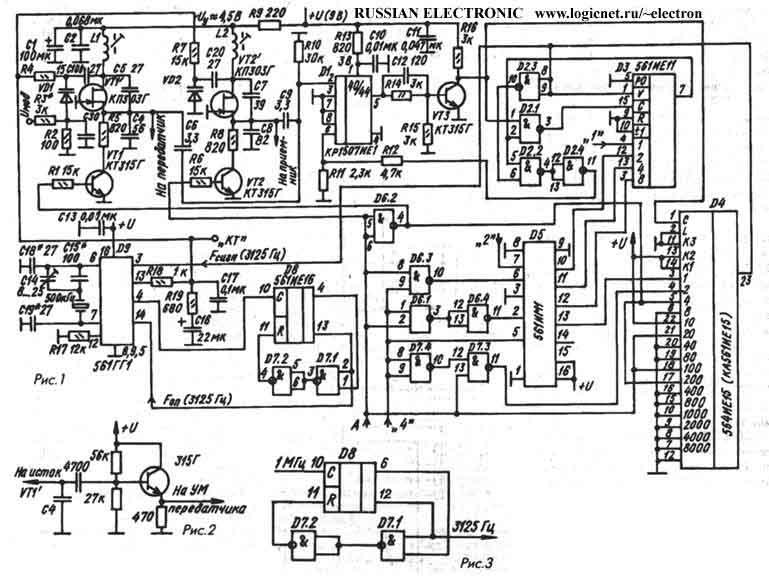 А. 8. 4. 2. 1. 0. Синтезатор частот предназначен для работы в радиостанциях с первой ПЧ 10, 7 МГц.